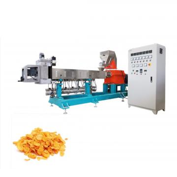 3D Pellet Corn Puffs Snack Extruder Puffed Bars Food Making Machines/Automatic Industrial/Industry Manufacturing Machine